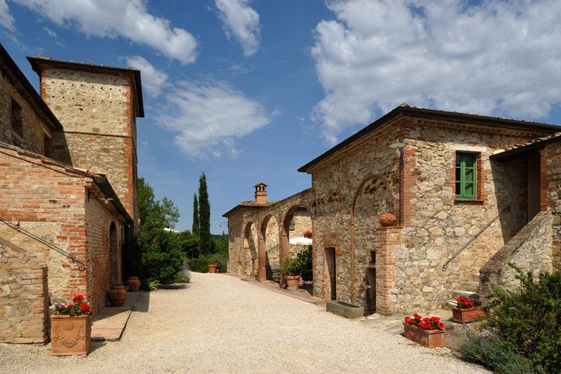 PRESTIGIOUS HAMLET IN ASCIANO - TUSCANY luxury real estate