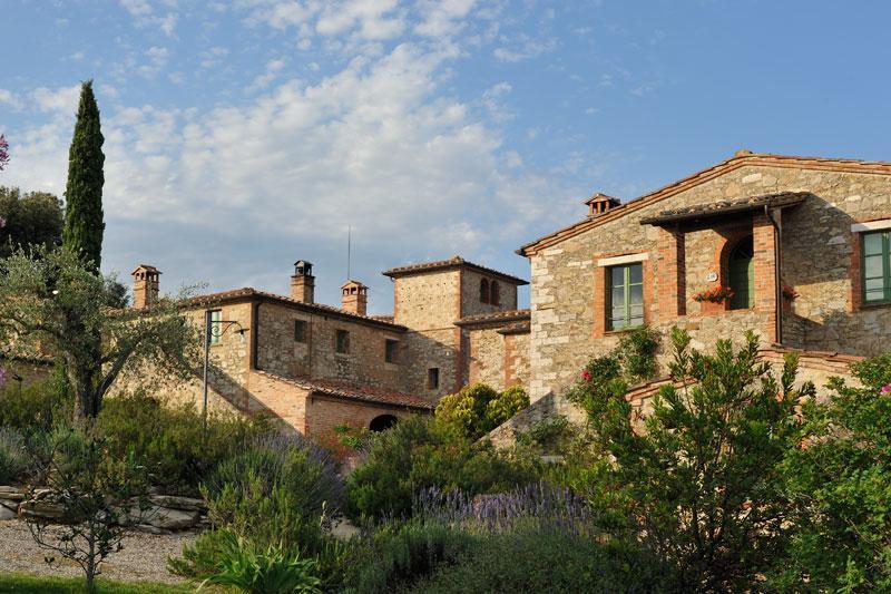 PRESTIGIOUS HAMLET IN ASCIANO - TUSCANY luxury homes