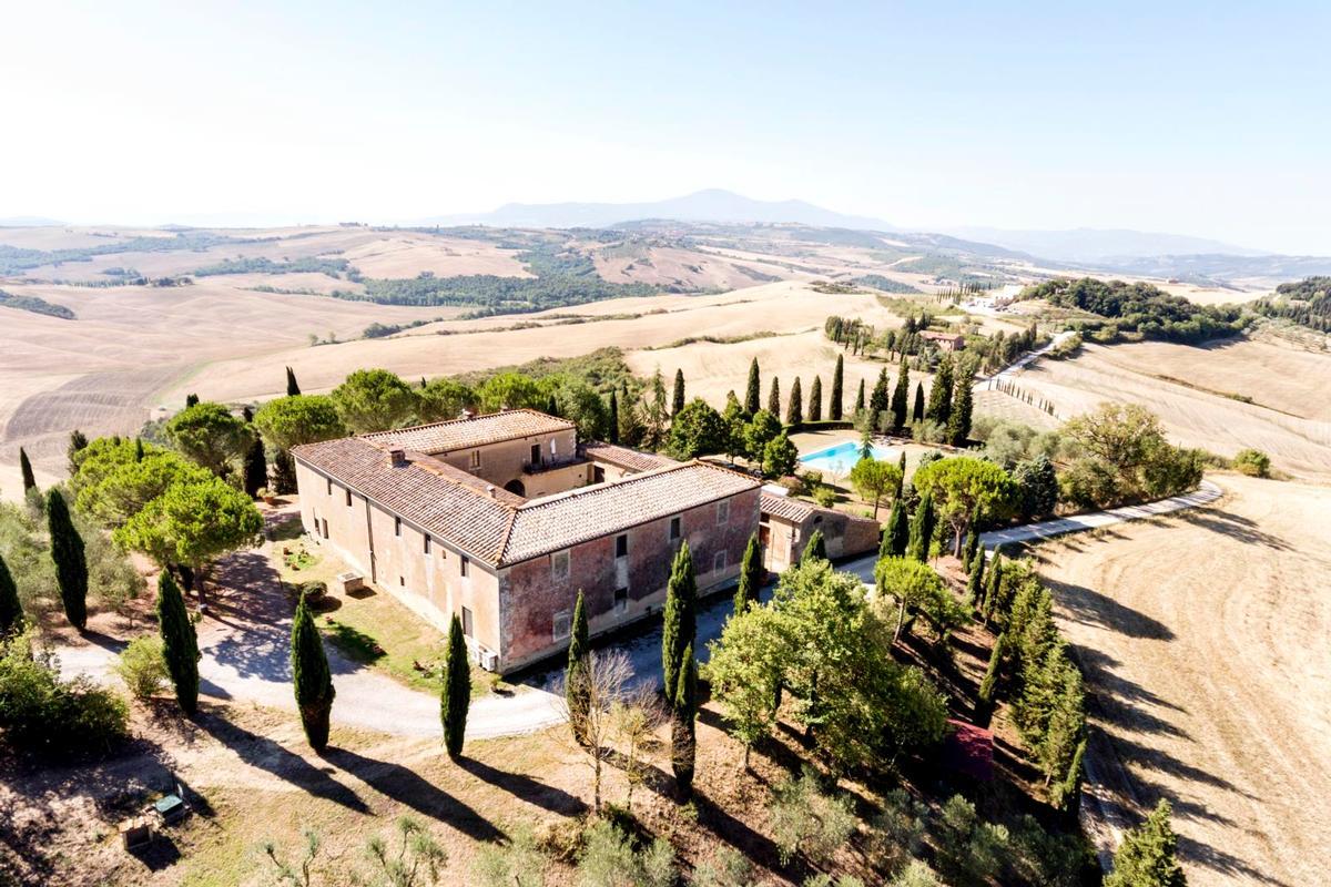 Luxury homes PRESTIGIOUS tuscany MANOR