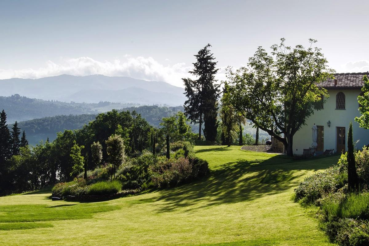 CHARMING ESTATE WITH HISTORIC VILLA - FLORENCE luxury homes