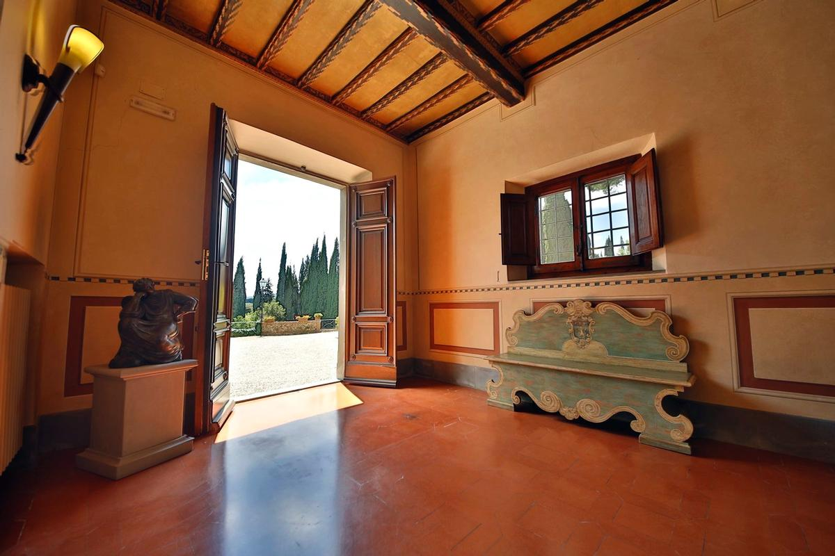 CHARMING ESTATE WITH HISTORIC VILLA - TUSCANY luxury homes