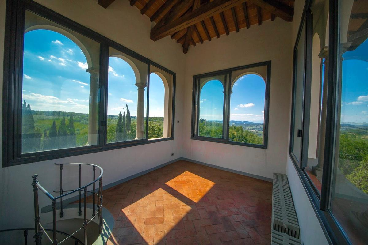 CHARMING ESTATE WITH HISTORIC VILLA - TUSCANY mansions