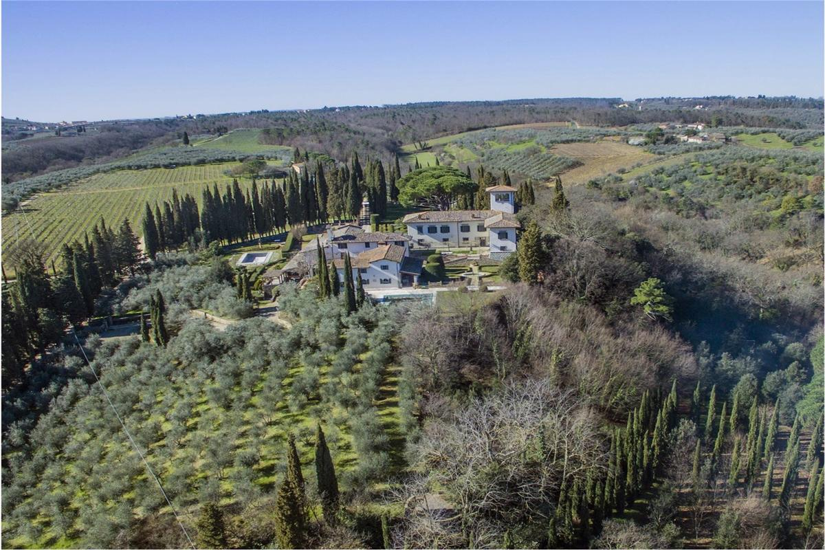 Luxury homes in CHARMING ESTATE WITH HISTORIC VILLA - TUSCANY