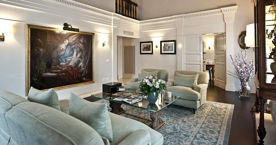 Luxury penthouse in the heart of Rome luxury properties