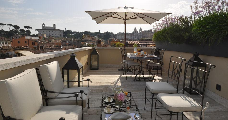 Mansions in Luxury penthouse in the heart of Rome