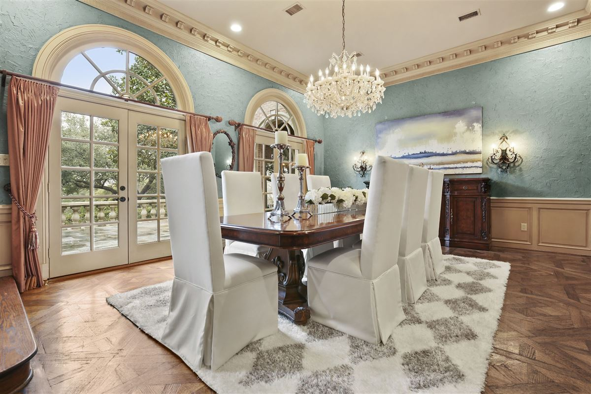 Luxury properties stately dallas residence