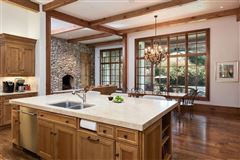 Impressive Preston Hollow residence in quiet Lobello Estates luxury real estate