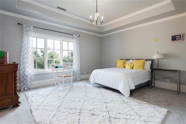 Luxury properties Impressive Preston Hollow residence in quiet Lobello Estates