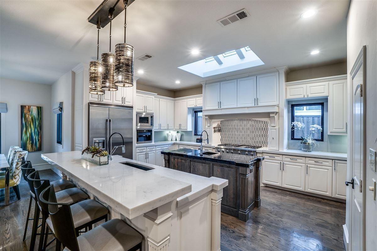 Luxury real estate Immaculate Mediterranean Preston Hollow home