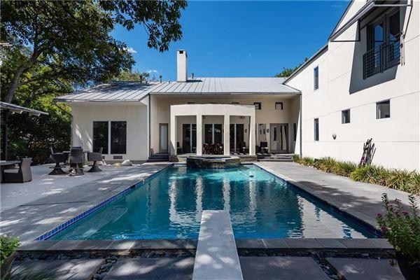 California Contemporary Home In Prestigious Preston Hollow