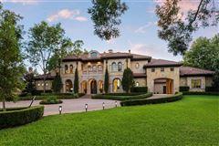 Mansions Preston Hollow residence