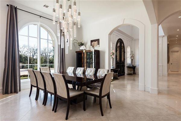 Preston Hollow residence  luxury real estate