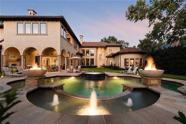 Preston Hollow residence  luxury homes
