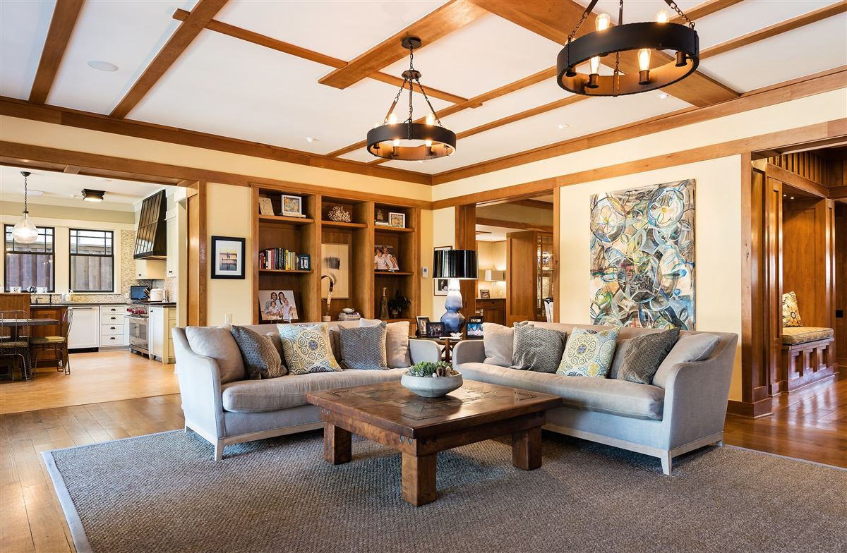Luxury homes in totally renovated Prairie-style historic home