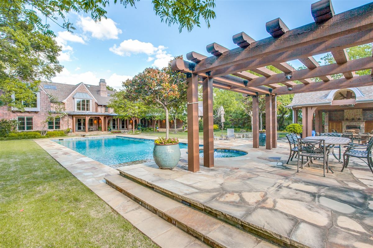 graceful Mayflower Estates Tudor in Texas luxury real estate