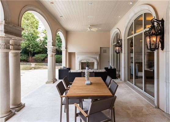 Luxury real estate gorgeous gated traditional home