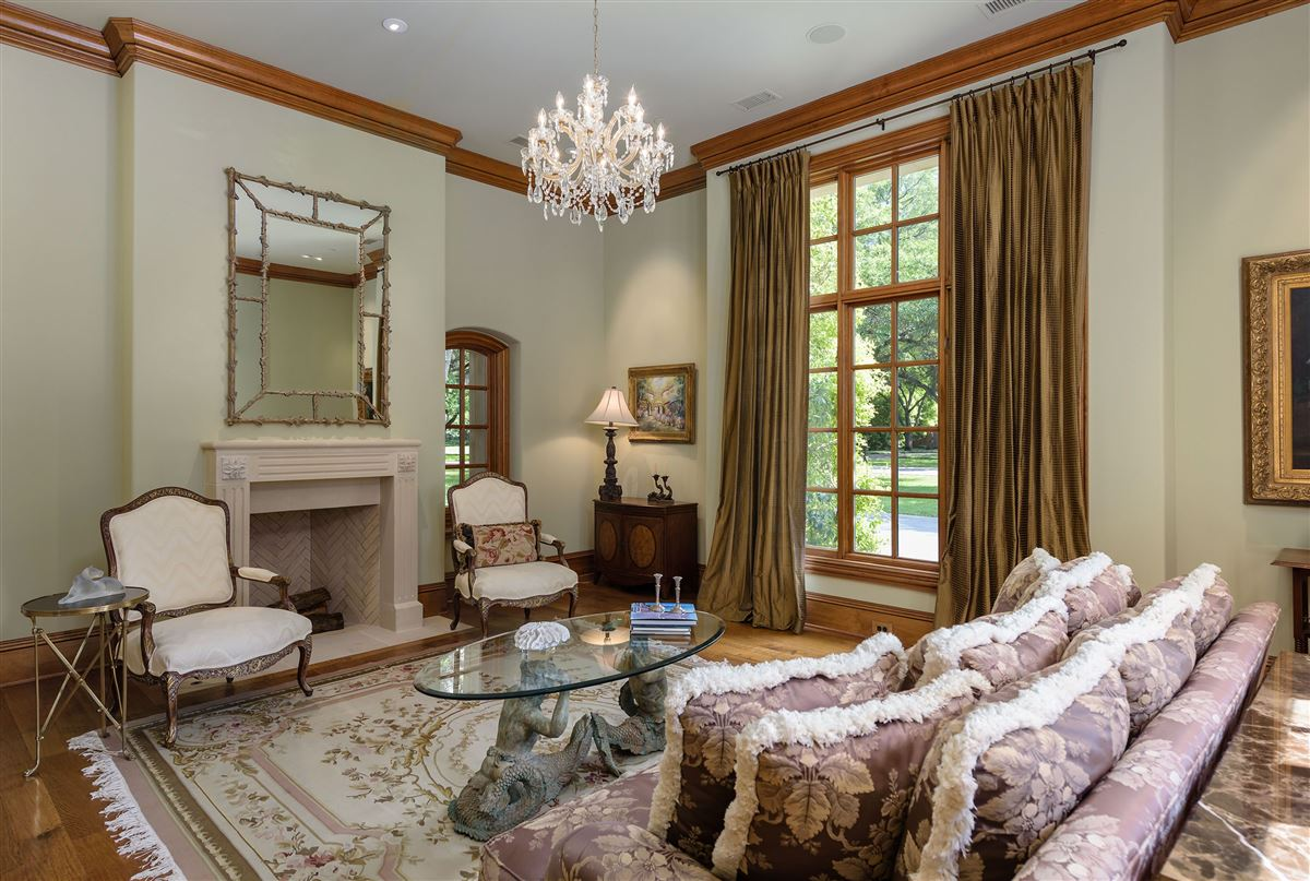 Country French Manor in Lobello Estates luxury homes