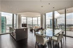 Luxury homes in expansive views of beautiful sunsets