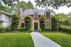 Luxury properties stately Highland Park residence on exclusive Stratford Ave