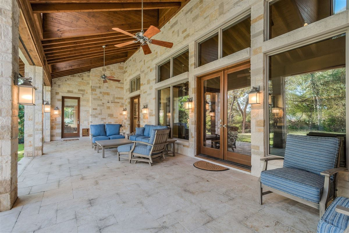 Luxury real estate Custom-built Hill Country estate