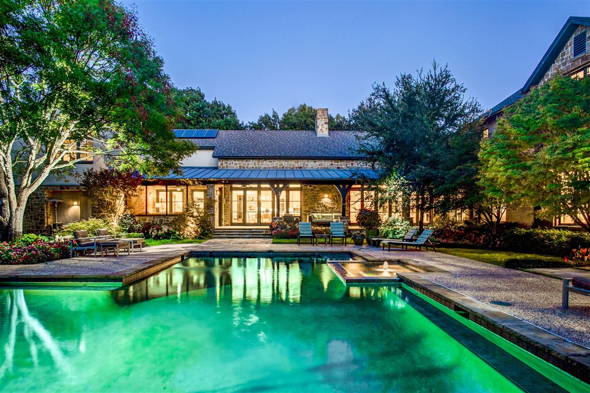 Luxury homes in Beautiful home with a spectacular pool and back yard