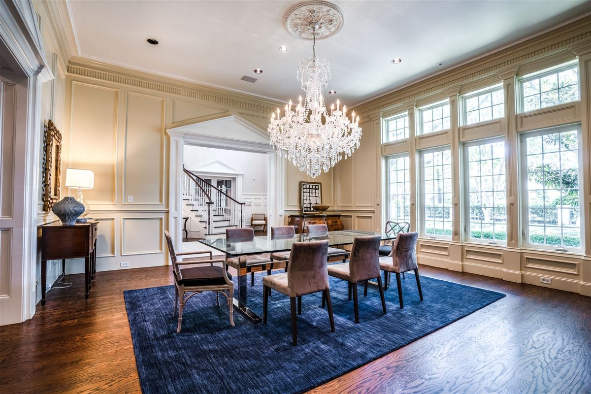 Luxury homes Gated Preston Hollow estate with casual elegance