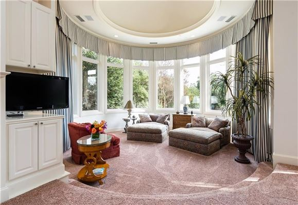 Luxury properties  a two acre gated estate
