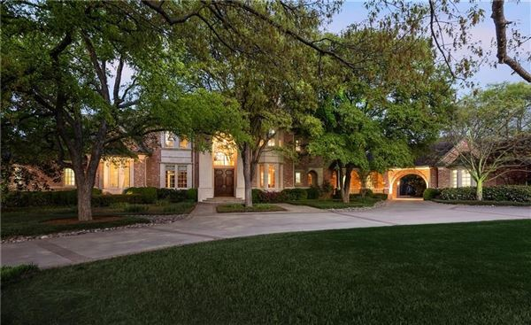 Luxury real estate  a two acre gated estate