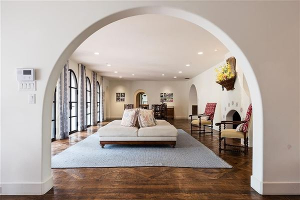 Expanded and remodeled spanish style home luxury real estate