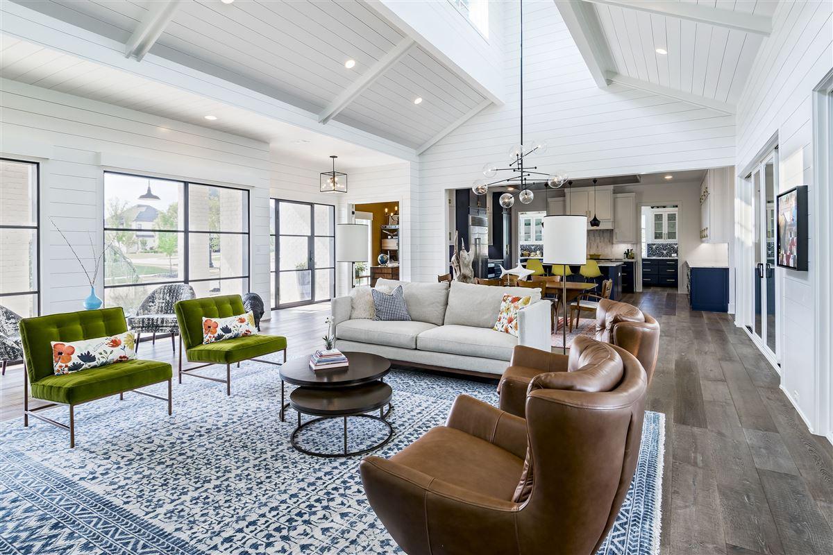 modern farmhouse in Carillon luxury real estate
