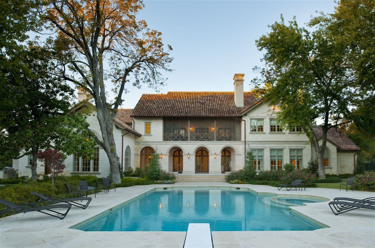 gated elegant two acre estate luxury homes