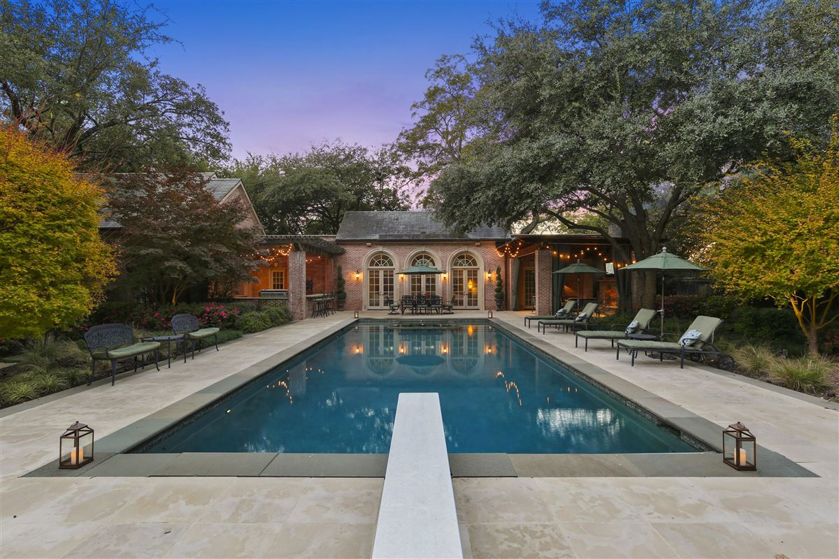 Majestic estate with breathtaking views across from White Rock Lake luxury homes