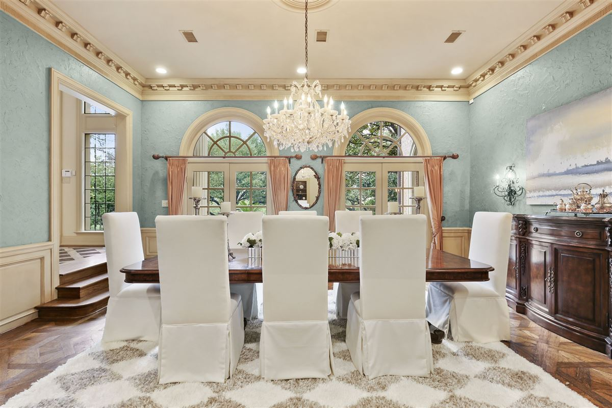 Mansions Majestic estate with breathtaking views across from White Rock Lake