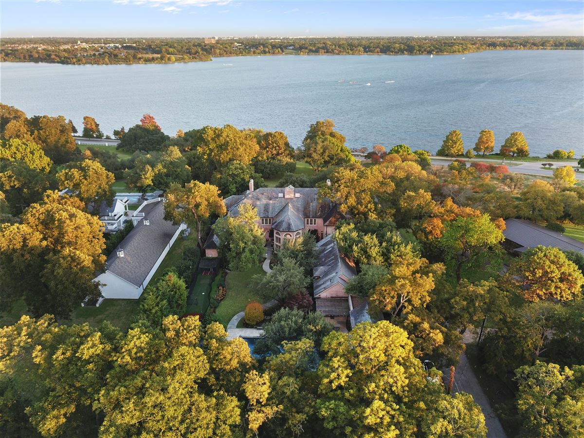 Majestic estate with breathtaking views across from White Rock Lake luxury real estate