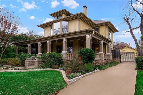 Charming Updated Historical Craftsman In Vickery Place
