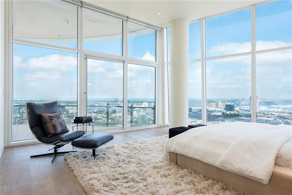 Luxury real estate half floor Penthouse in iconic Museum Tower