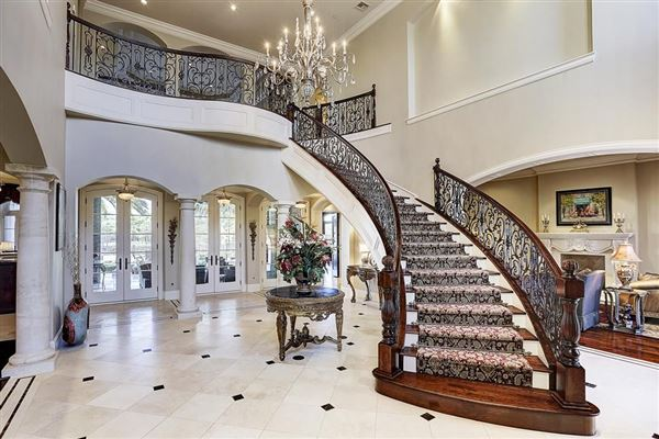 Magnificent Estate Home In Houston Texas Luxury Homes
