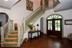 elegant farmhouse with gracious wrap-around porch mansions