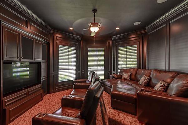Luxury properties elegant farmhouse with gracious wrap-around porch