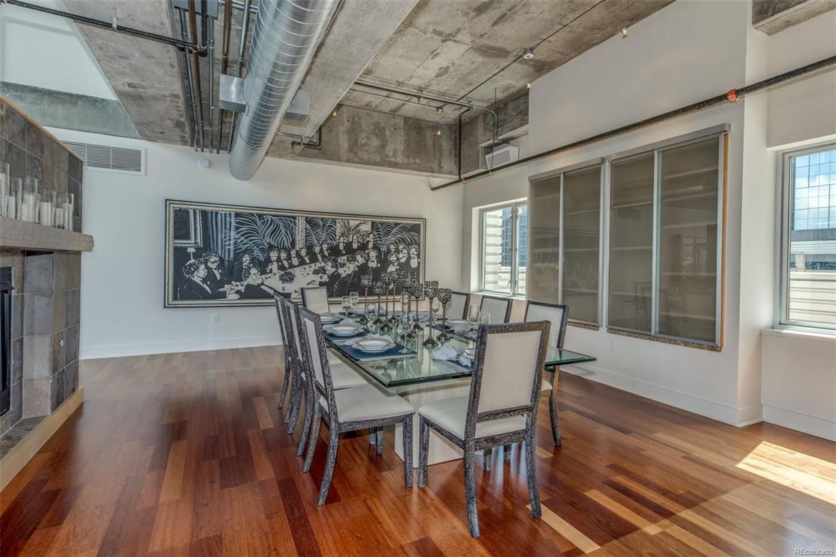 Luxury real estate incredible penthouse in denver