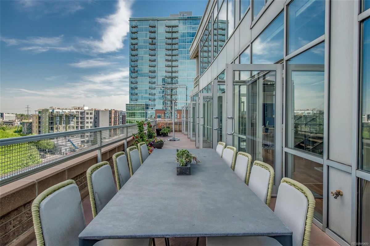 Luxury homes incredible penthouse in denver