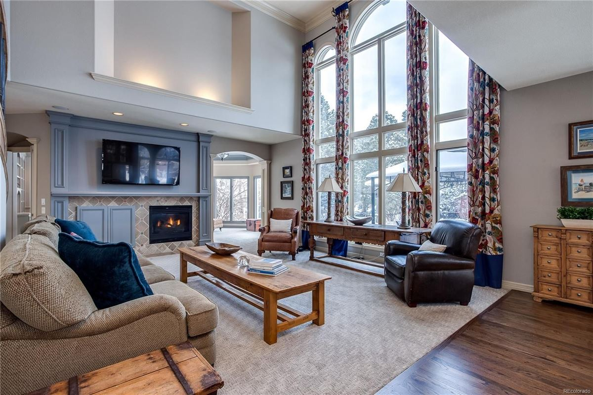 Luxury homes in Cherry Hills Farms West