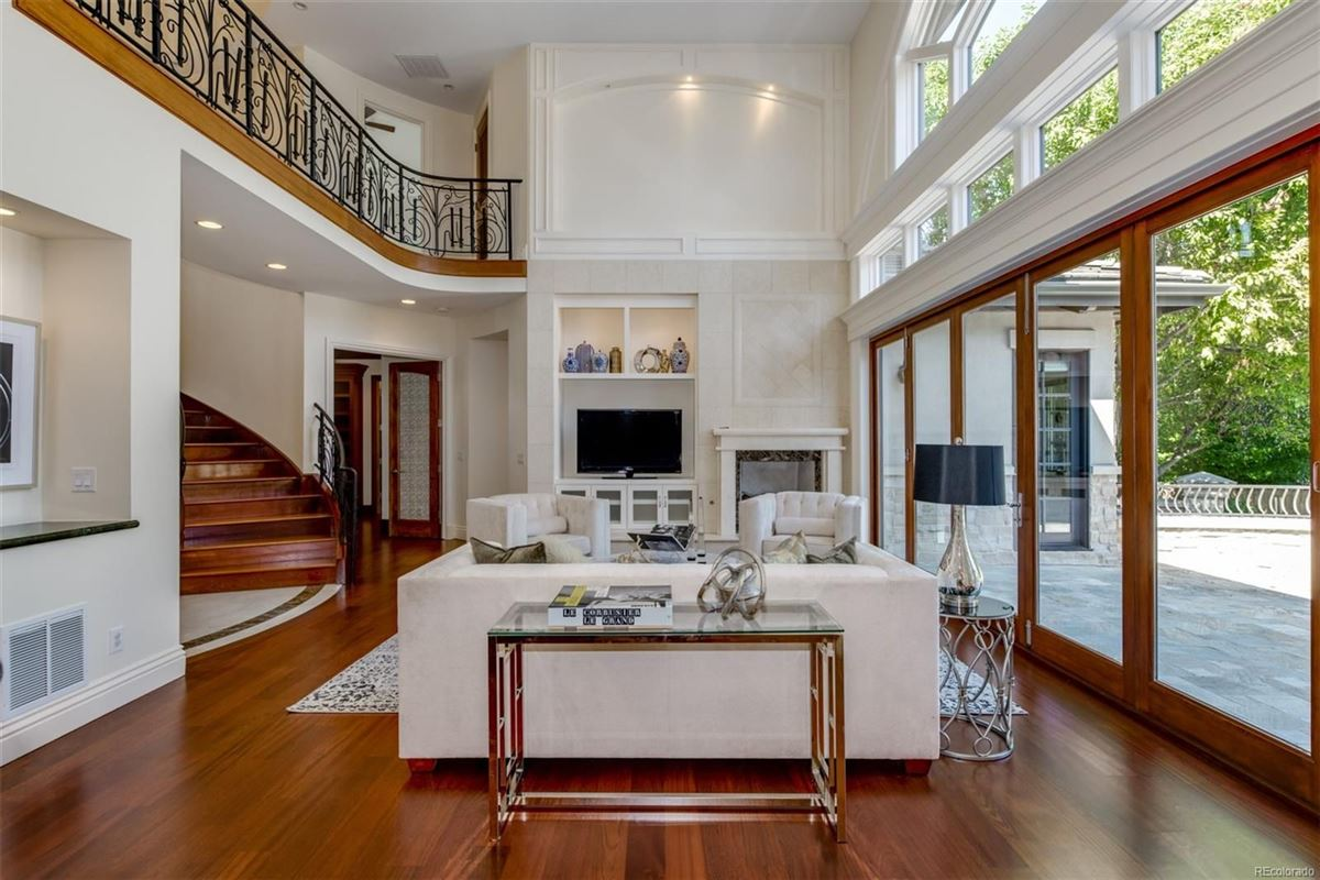 Incredible custom home in denver luxury real estate