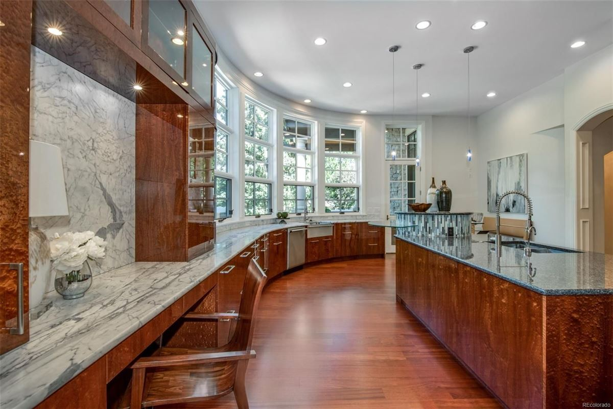 Mansions in Incredible custom home in denver