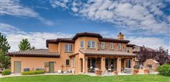 unique custom home on large lot in Heritage Hills mansions