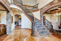 Mansions in unique custom home on large lot in Heritage Hills