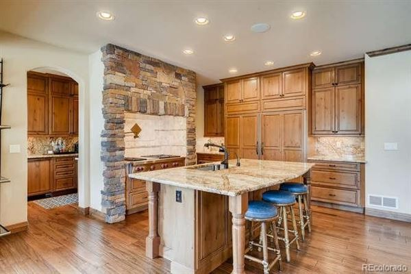 unique custom home on large lot in Heritage Hills luxury properties