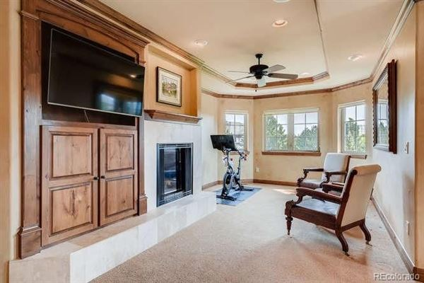 unique custom home on large lot in Heritage Hills luxury homes