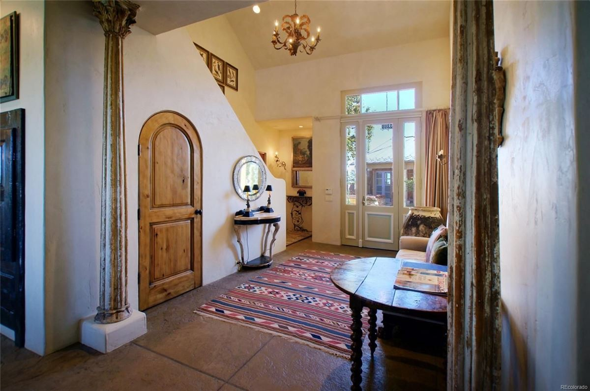 Luxury homes commanding views of Pikes Peak