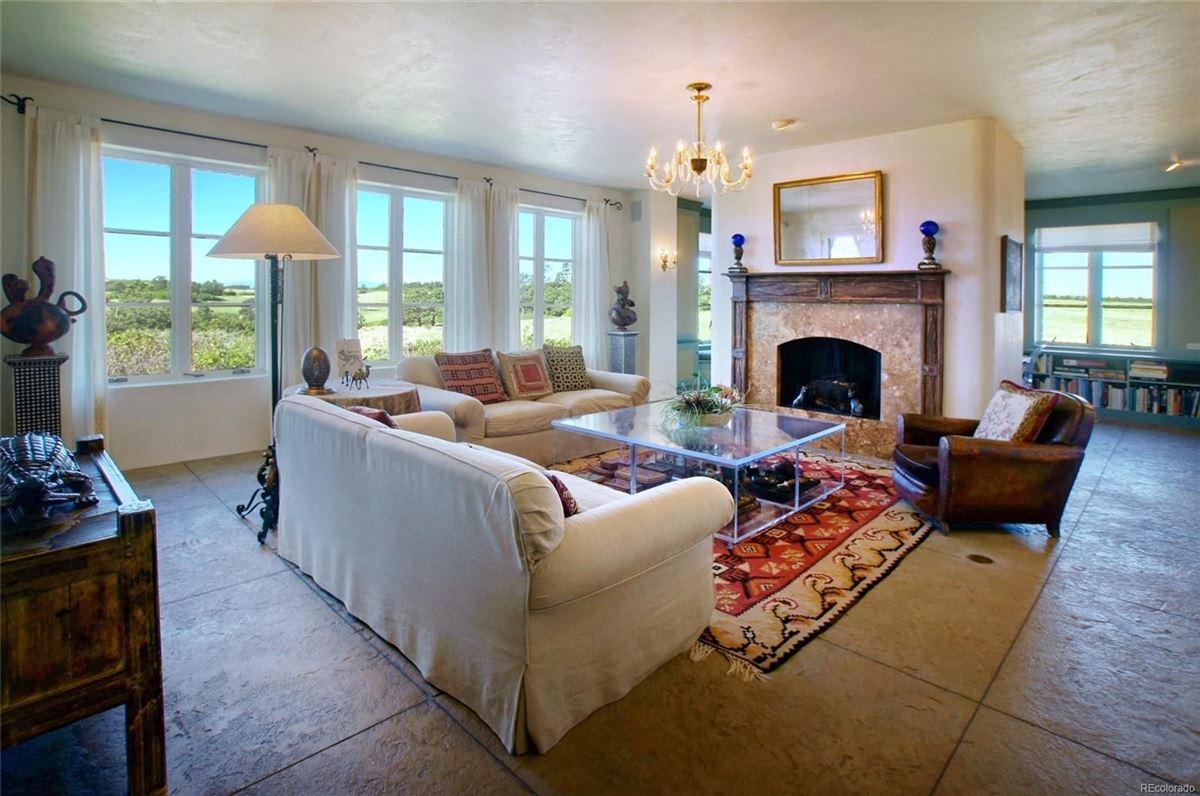 Luxury real estate commanding views of Pikes Peak